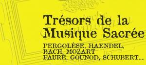 TRÉSORS DE LA MUSIQUE SACRÉE