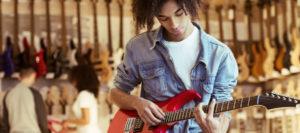 Achat d'instruments de musique